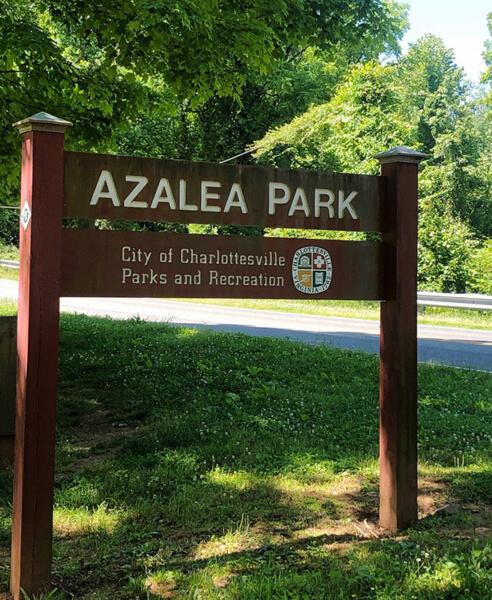 Azalea Park in Charlottesville