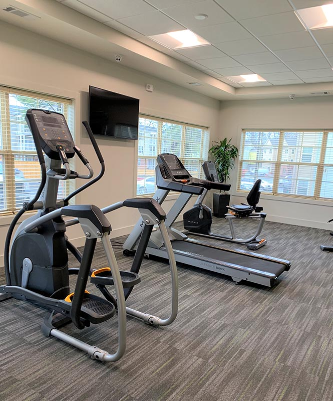 Brookdale Charlottesville Apartments Fitness Center
